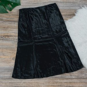 The Limited silky midi skirt